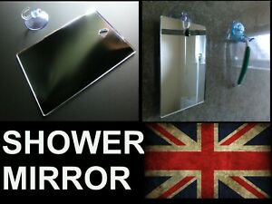 Shower Shaving Mirror,Strong Shatter Proof, Anti-Fog,Travel,camping,FREE Hook!