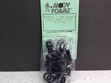 HO 1/87 Alloy Forms # 3072 Small Truck Tires (20 peices) Approx. 11mm Diameter