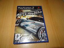 necesidad de Velocidad Más Buscado PS2 NUEVO PRECINTADO GB Versión Pal