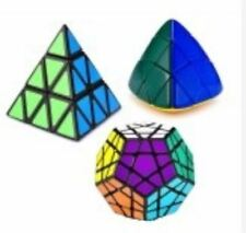 Rubik's Cube Pyraminx, Megaminx and Mastermorphix Bundle Set