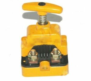 Hella Big Battery Cut Off Switch Yellow Colour Fit For Tractor Boat Trailer