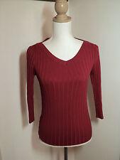 witchery stretch rib knit jumper sz M