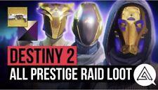Destiny 2 Prestige Raid CARRY !!! PS4
