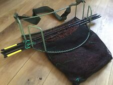 QUICK SET BASKET SYSTEM 25YARD 6Z LONGNET ON 6 POLES RABBIT / FERRETING