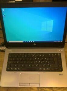 "HP Probook 645 G1 QUAD CORE A8-4500M 1.9Ghz 4GB RAM 250GB HD 14"" Windows 10"