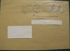 BRD Mi.Nr. 1397 Marken auf echt gelaufenen 2 Postzustellungsaufträgen