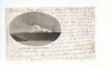Mt Hood Oregon  Altitude 11,934 feet  Mailed 1905   Postcard 833