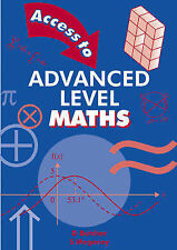 Access to Advanced Level Maths (Advanced Level Mathematics)-ExLibrary
