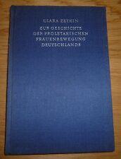 Buch DDR Clara Zetkin Zur Geschichte der Proletarischen Frauenbewegung Deutschla