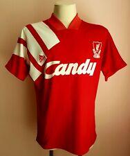 Liverpool 1991 - 1992 Home football Adidas shirt size M