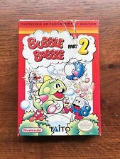 Bubble Bobble Part 2 II Authentic NES Nintendo Empty Box Only