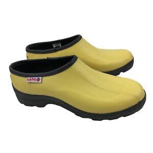 Ladybug Ranger Womens Waterproof Rain Garden Shoes Boots Yellow Size 8
