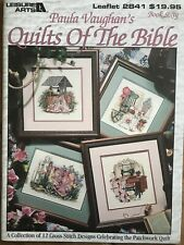 Paula Vaughan's Quilts of The Bible 12 Designs Cross Stich Pattern Book