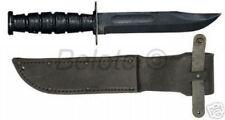 "Ontario 498 Marine USMC Knife Kabar W/ sheath 12"" 8180"