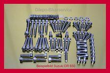Suzuki DR 650 / DR650 Schrauben Edelstahlschrauben Motorschrauben ohne E-Starter