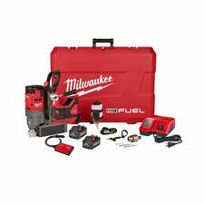 Milwaukee 2788 22hd M18 Fuel 1 12 Lineman Magnetic Drill High Demand Kit