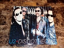 "U2 Rare Bono Signed Discotheque 12"" Vinyl EP Record Autographed Pop + Photo COA"