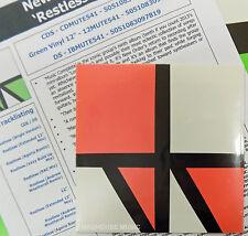 NEW ORDER CD Restless 6 REMIXES 2015 UK single + A4 PROMO Info Sheet NEW