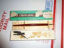Vintage Hunt Crowquill Penholder with 7 pens VINTAGE MAPPING PENS