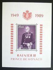 MONACO STAMPS MNH - Reign of Prince Rainier, 1989, **, SLANIA