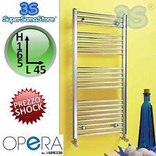 3S SCALDASALVIETTE TERMOARREDO BAGNO CROMATO DRITTO 165x45 interasse 40 cm ERCOS