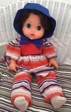 Bambola vintage anni 1970 GRANDI OCCHI