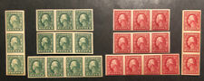 Tdstamps: Us Stamps Scott#408 409 Mint Nh Og 8 Strips