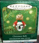 Christmas Bells`2001`Miniature-Mouse #7 Christmas Bells Series,Hallmark Ornament