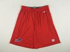 Buffalo Bills Nike Shorts Men's Red Dri-Fit Used XLarge