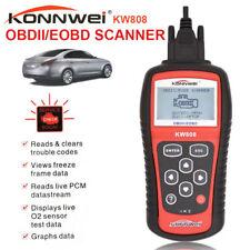 New KONNWEI KW808 OBD2 OBDII EOBD Scanner Car Diagnostic Code Reader Tester Tool