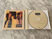 Oasis Radio Supernova CD PROMO! E.U IMPORT Live At Glastonbury 1995 RARE! OOP!