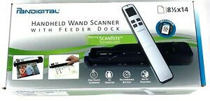 Pandigital Hand-Held Wand Scanner PANSCN10BE BLUE NEW SEALED