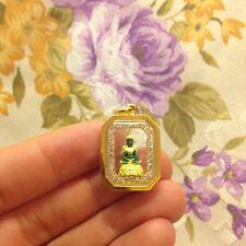 Emerald Buddha Phra kaew Morakot Lao KhmerThai Amulet  Luck Rich Charm Protect