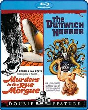 MURDERS IN THE RUE MORGUE + THE DUNWICH HORROR New Blu-ray Double Feature