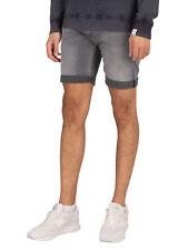 Replay Herren neue Anbass 573 Bio Denim Shorts, grau