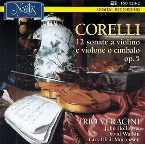 CORELLI: 12 SONATE A VIOLINO E VIOLONE O CIMBALO OP. 5, TRIO VERACINI / 2 CD-SET