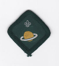 1970's BRITISH / UNITED KINGDOM (UK) SCOUTS - ASTRONOMER SCOUT PROFICIENCY BADGE