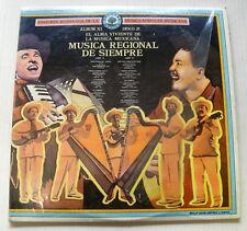 various MUSICA REGIONAL DE SIEMPRE historia musica mexicana XI 2LP RCA MC1137/38