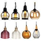 Modern Vintage Industrial  Pendant Glass  Light Lamp Shade  Ceiling Hanging Lamp