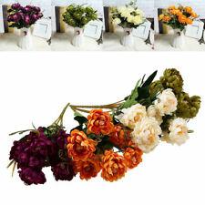 Artificial Flower Bridal Wedding Bouquet Party Home Garden Decor Celebration