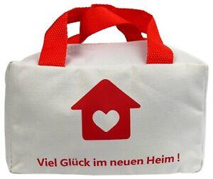 Tasche 'Neues Heim' für Geschenk zum Einzug Einweihungsgeschenk Richtfest