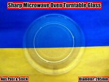 Sharp,LG Microwave Oven Glass Turntable Plate Platter 285mm (W10) Brand NEW