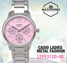 Casio Ladies' Standard Analog Watch LTPE312D-4B LTP-E312D-4B