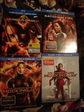 Hunger Game 1-4 Blu ray lot