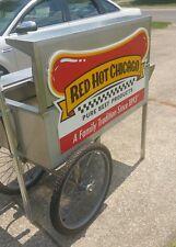 Hot dog carts used