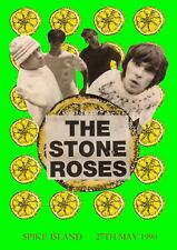 """Reproduction The Stone Roses Poster, """"Spike Island"""" Indie, Manchester"""