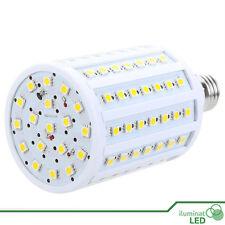 Bombilla LED E27 102 SMD 5050 360º Blanco Cálido 220V - Únicamente 17W.