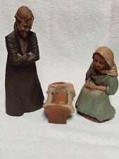 Very Rare Tom Clark Baby Jesus, Joseph & Mary