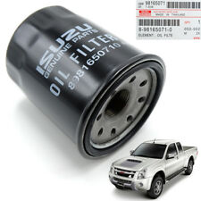 Genuine Engine Oil Fuel Filter Black Fits Isuzu Holden D-Max Pickup 2012 2018