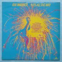 KAI WARNER ~ HITS ALL THE WAY ~ 1976 UK 10-TRACK VINYL LP RECORD